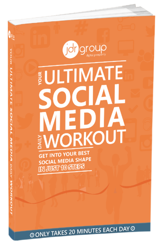 JDR Ebook cover - Social Media Daily Workout
