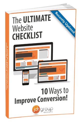 Website Conversion Checklist Cover
