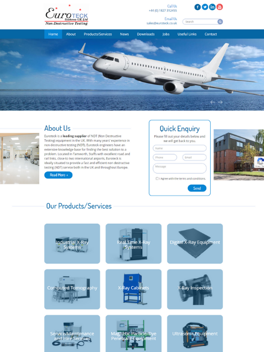 Euroteck-Website-Design