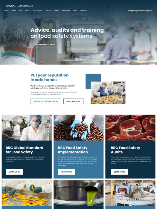 Food-Quality-Consulting-Website-Design