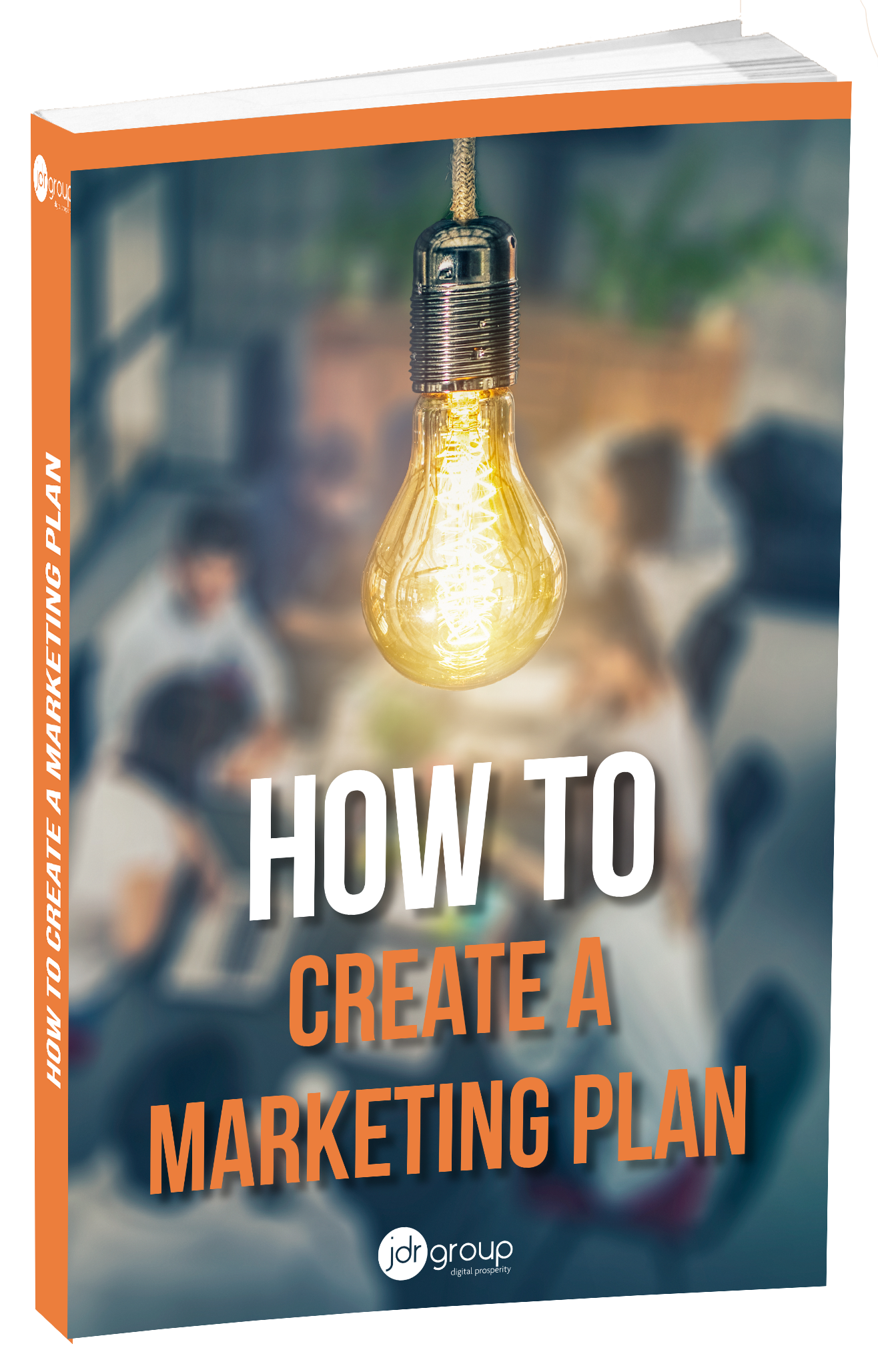 How to create a marketing plan Cover