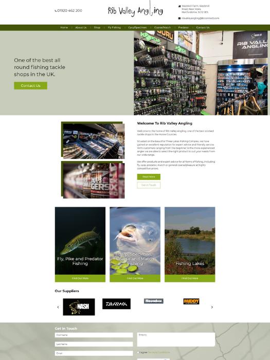 Rib-Valley-Angling-Website-Design