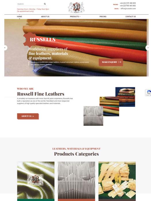 Russells-Website-Design