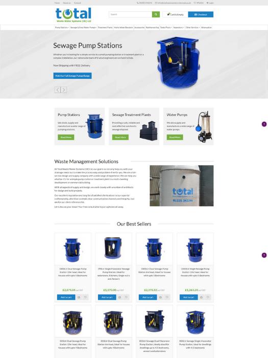 Total-Wastewater-Website-Design